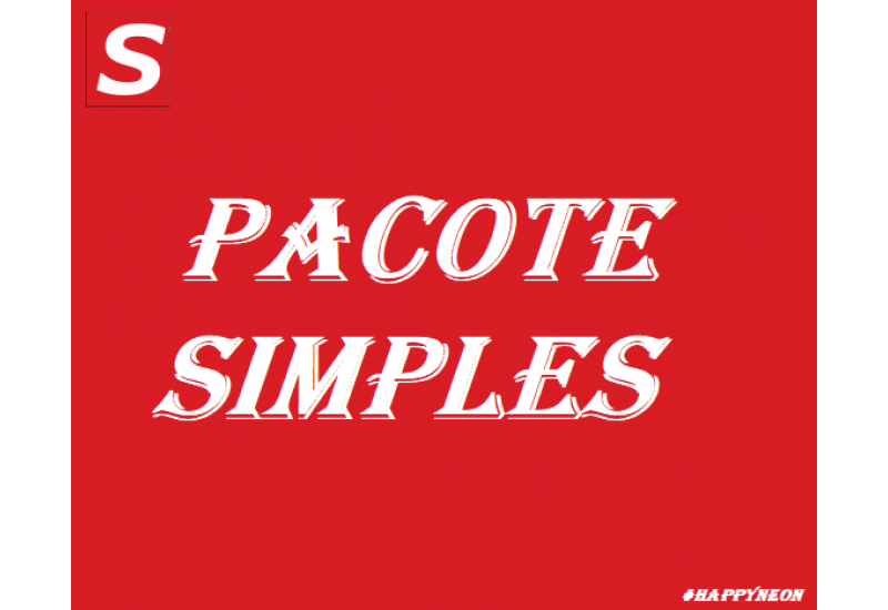 Happy Neon - Pacote Simples
